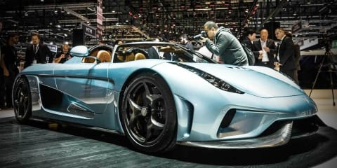 Koenigsegg Regera petrol-electric 1119kW/2000Nm supercar revealed