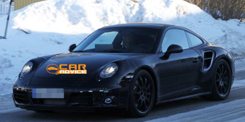 2012 Porsche 911 Turbo Spy Photos