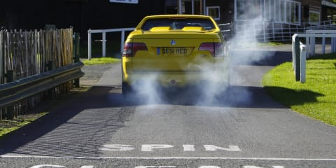 HSV Maloo and Australian driver set Shelsley Walsh hill climb record