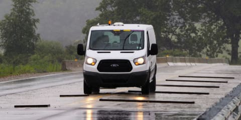 Ford employs industry-first autonomous vehicle testing