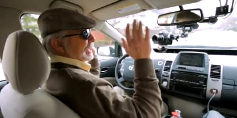 Google lets a blind man drive its autonomous car