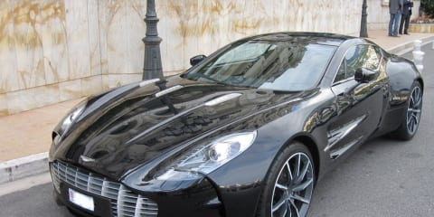 2011 Aston Martin One-77 first example delivered