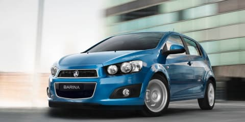 2012 Holden Barina at Australian International Motor Show 2011