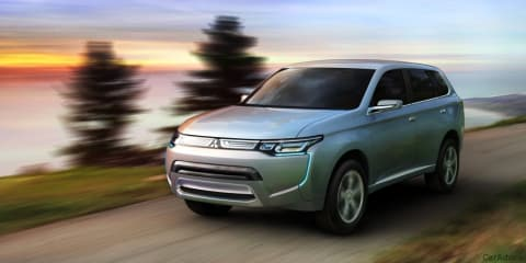 Mitsubishi PX-MiEV Review (Outlander preview)