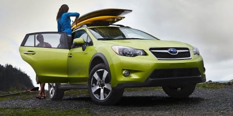 Subaru XV Hybrid on the radar; Australian testing to start in 2014