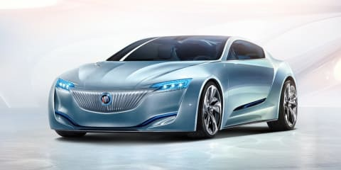 Buick Riviera: plug-in concept previews future design language