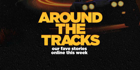 Around the tracks: A footballer's rare Ferrari, a Mustang GT drifts into a creek and a free Batmobile movie
