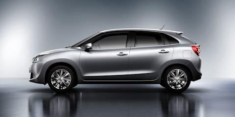 2016 Suzuki Baleno teased
