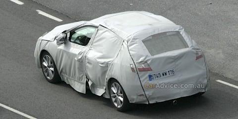 2009 Renault Megane III spied