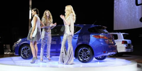 Lexus CT200h at 2010 AIMS