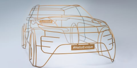 2019 Range Rover Evoque teased
