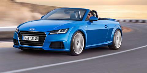 Audi TT Roadster revealed
