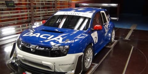 Dacia Duster Pikes Peak race car revealed