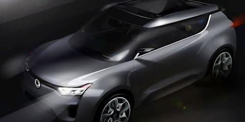 SsangYong XIV-2 concept: Convertible crossover for Geneva