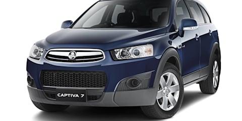 2012 HOLDEN CAPTIVA 7 SX (FWD)