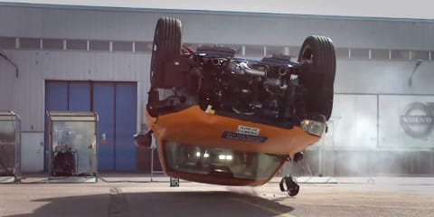 2015 Volvo XC90 shrugs off trio of crash tests