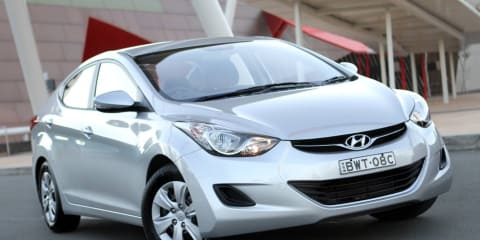 2012 Hyundai Elantra Australian launch video