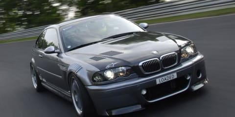 Loaded BMW M3 CSL topples ring record