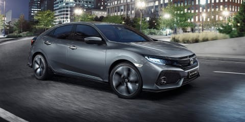 2017 Honda Civic hatch pricing announced, arriving in May - UPDATE