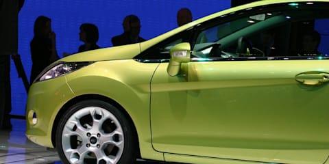 New Ford Fiesta 2008 Geneva Motor Show