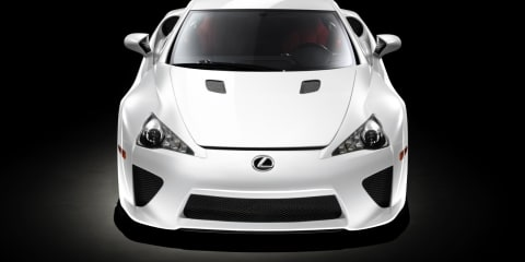 Lexus LFA to be leased, then sold