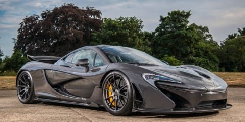 Jenson Button's McLaren P1 up for sale