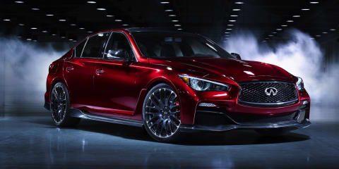 Infiniti Q50 Eau Rouge concept teases potential 372kW/812Nm sports sedan
