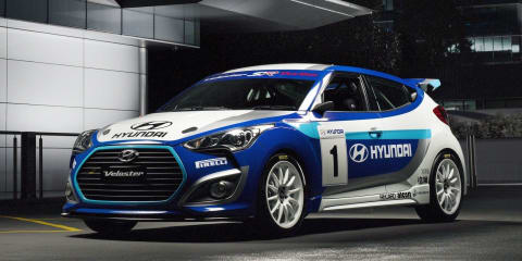 Hyundai Veloster Race Concept ready to rally in Australia