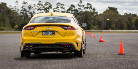 Kia Stinger bi-modal exhaust pricing confirmed