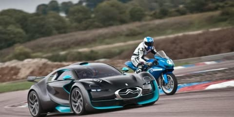 Video: Citroen Survolt EV versus Agni Z2 EV motorbike