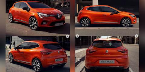 2019 Renault Clio leaked