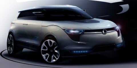 Ssangyong XIV-1 Concept previewed ahead of Frankfurt debut