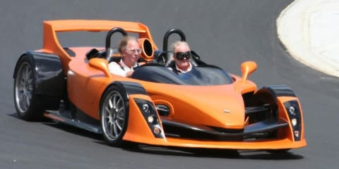 Hulme CanAm supercar to make local debut at Sydney motor show