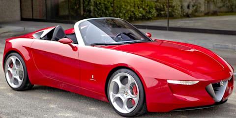 Alfa Romeo 2uettottanta concept by Pininfarina - Geneva 2010