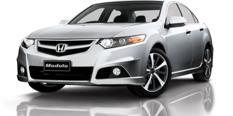 Honda Accord Euro gains Modulo Sports Pack