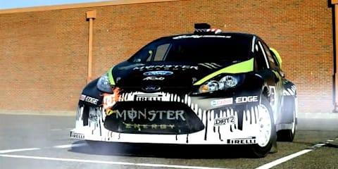 Video: Ford Fiesta gymkhana car running errands TVC