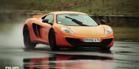 McLaren MP4-12C video review and Australian sales