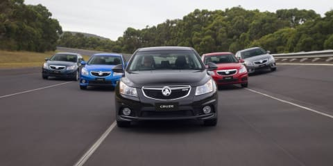 2011 Holden Cruze Series II on sale in Australia late-March
