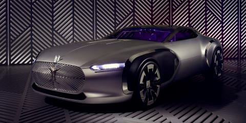 Renault Coupe Corbusier concept unveiled