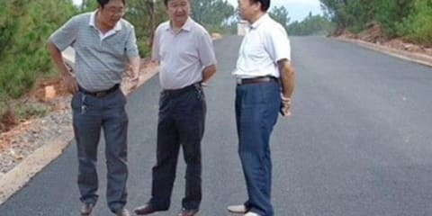 Chinese government road inspection images go viral