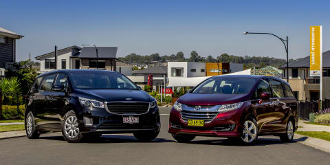 Kia Carnival v Honda Odyssey : Comparison review