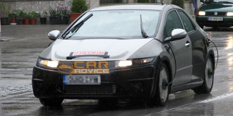 2012 Honda Civic Spy Photos