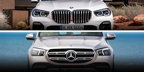 2019 BMW X5 v 2019 Mercedes-Benz GLE