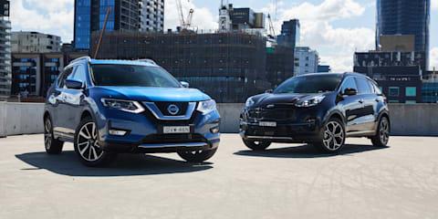 2018 Kia Sportage v Nissan X-Trail