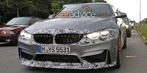 2017 BMW M4 spied