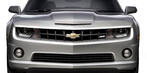 Chevrolet Camaro SS prototype hits the 'Ring