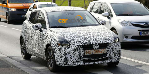 2015 Mazda 2 spied during testing