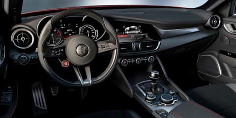 Alfa Romeo Giulia interior leaks online