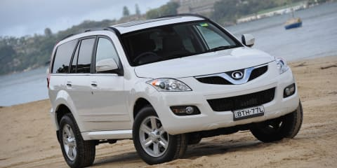 2012 Great Wall X200 automatic coming in April