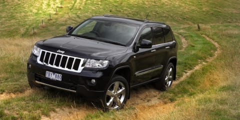 2011 Jeep Grand Cherokee CRD in Australia mid-year